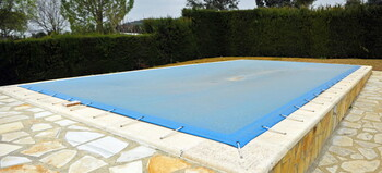 Pool Closing in South River, New Jersey by Lester Pools Inc.